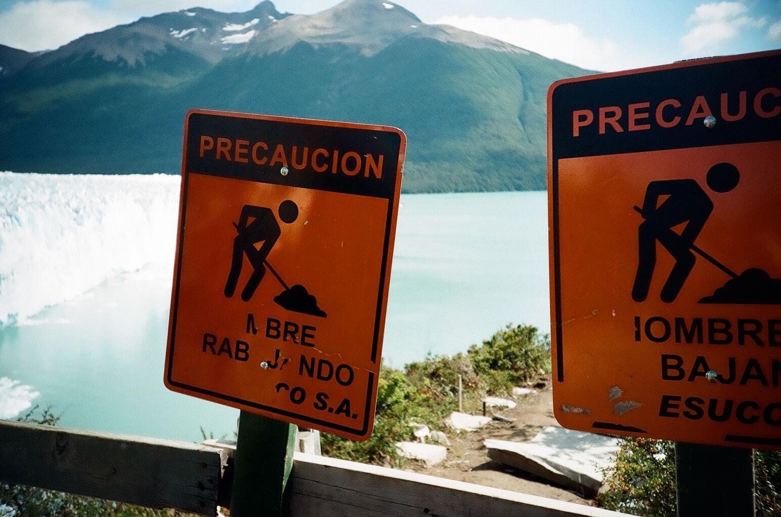 Am Gletscher Perito Moreno. Foto: Lothar Ruttner