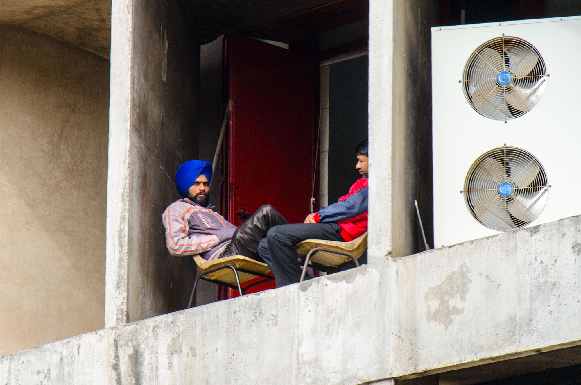 Haryana Civil Sectretariat, Chandigarh, Indien. Foto: Matthieu Götz