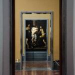 Caravaggios Geißelung Christi im Museo Nazionale di Capodimonte, Neapel. Foto: Lothar Ruttner