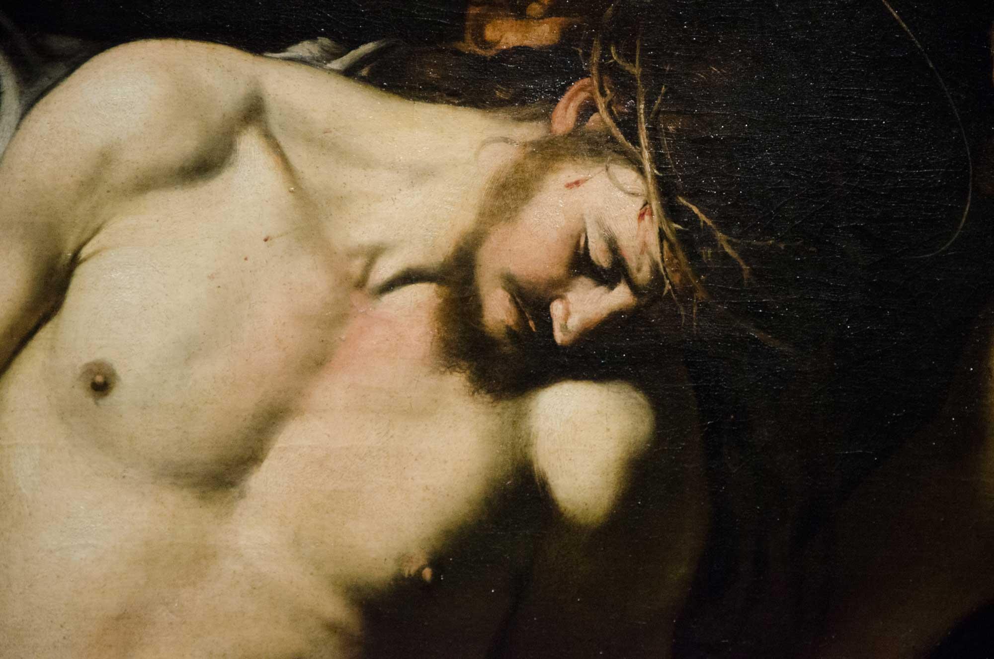 Caravaggio: Geißelung Christi (1607), Museo Nazionale di Capodimonte. Foto: Lothar Ruttner