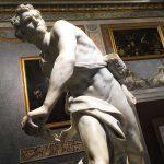Gian Lorenzo Bernini: David (1623–24). Rom, Galleria Borghese. Foto: Lothar Ruttner